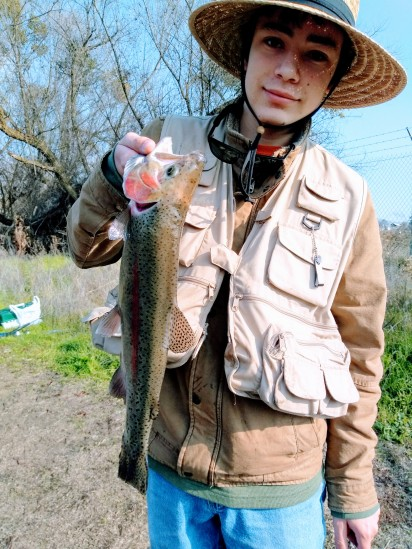 Michael's first fish for 2019